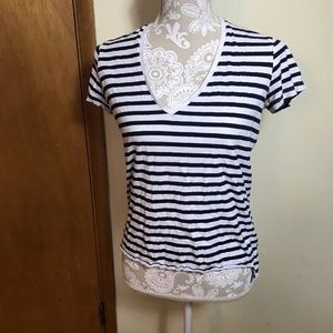 Zara W & B Collection t-shirt, size Small